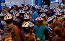Jaagt een fietshelm je van de fiets?