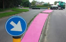 Roze vluchtheuvels in Wijchen