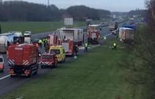 Fataal ongeluk op de A1