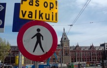 'Overbebording' in Amsterdam