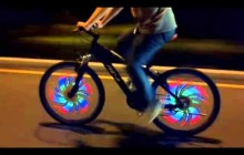 Fantastic Bicycle Wheel Lights