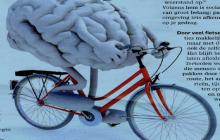 De geest van de fietser