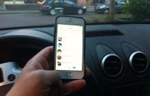 App-blokkade bij 30 km/u