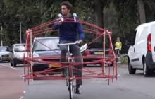 Ruimtegebruik auto vs fiets