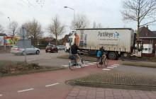 Bizarre rotonde in Gorinchem