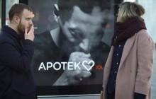 Interactieve reclameborden reageren op sigarettenrook