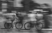 Onrust op het fietspad