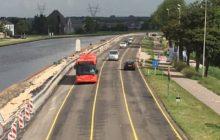 Busbaan op de schop