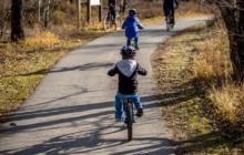 Spraakmakers over kinderen op de fiets