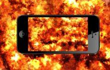 Brand! Waar is mijn smartphone?