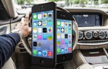 Appen in auto aangepakt