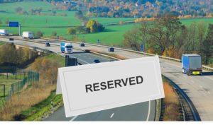 Is snelweg reserveren de oplossing voor de file?