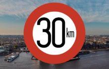 Heel Amsterdam 30 km/u