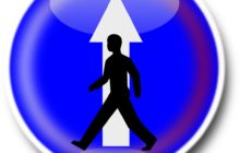 Eenrichtingsverkeer voor voetgangers