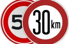 30 in plaats van 50