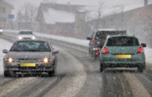 Winterweer verandert automobilist