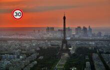 30 km in bijna heel Parijs