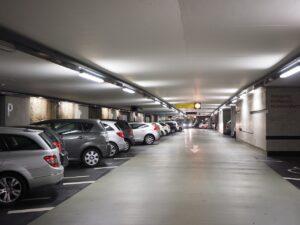 Onrustig in de parkeergarage